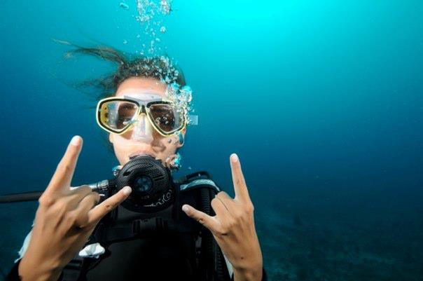 Under vandet i Afrika