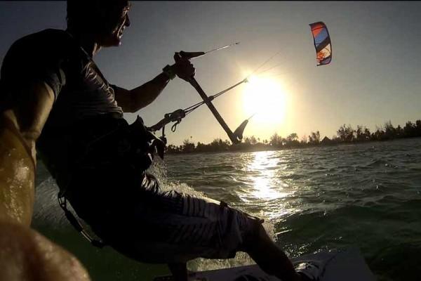 Idræt højskole zanzibar kite sport