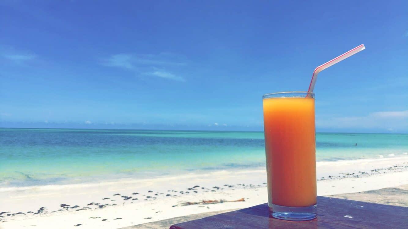 De fem bedste drinks på Zanzibar